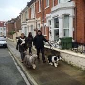 På promenad i Southsea, Portsmouth